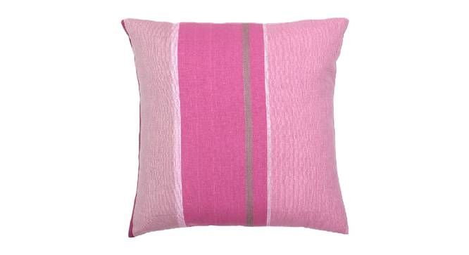 "Pankti Cushion Cover (Purple, 30 x 30 cm  (12"" X 12"") Cushion Size) by Urban Ladder - Design 1 Details - 331543"