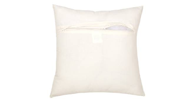 """Safar Cushion Cover (Blue, 41 x 41 cm  (16"""" X 16"""") Cushion Size) by Urban Ladder - Front View Design 1 - 331553"""