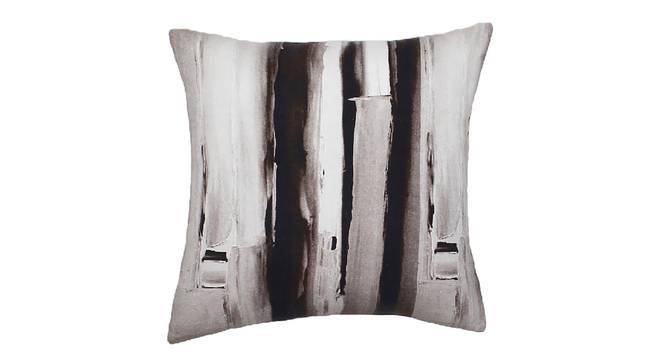 "Virgule Cushion Cover (Grey, 41 x 41 cm  (16"" X 16"") Cushion Size) by Urban Ladder - Design 1 Details - 331564"
