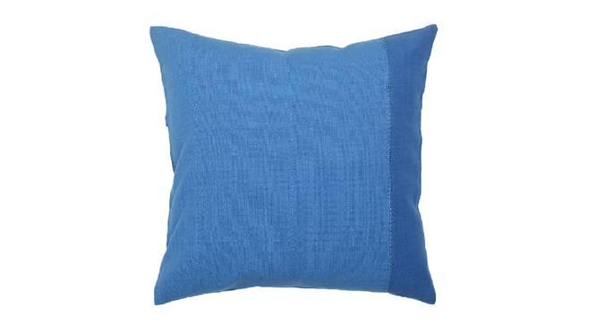 """Varidhi Cushion Cover (Blue, 41 x 41 cm  (16"""" X 16"""") Cushion Size) by Urban Ladder - Design 1 Details - 331570"""