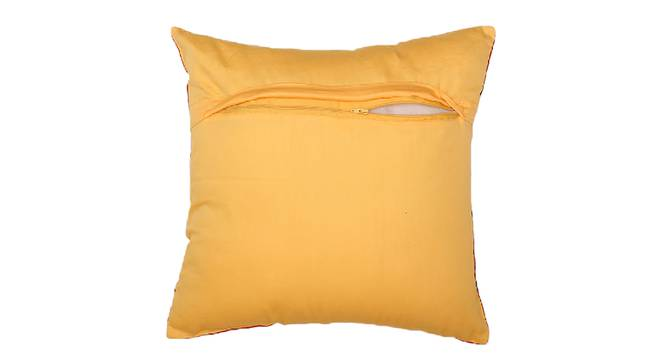 """Crossroad Cushion Cover (Red, 41 x 41 cm  (16"""" X 16"""") Cushion Size) by Urban Ladder - Front View Design 1 - 331580"""