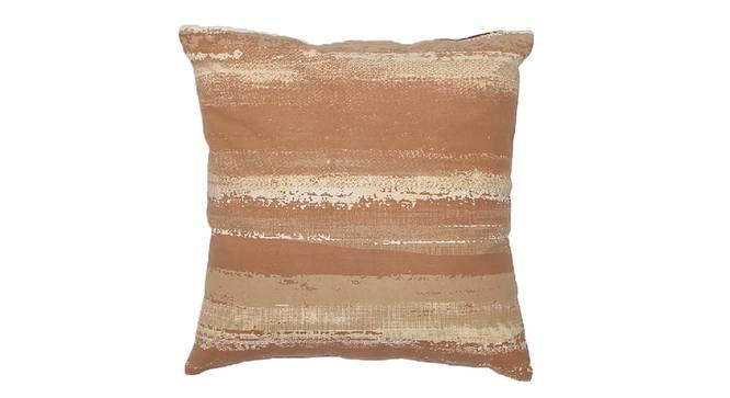 "Vartika Cushion Cover (Beige, 41 x 41 cm  (16"" X 16"") Cushion Size) by Urban Ladder - Design 1 Details - 331588"