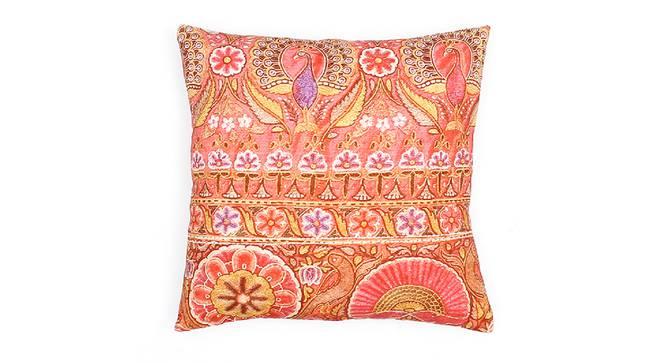 "Kolam Cushion Set Of (Pink, 41 x 41 cm  (16"" X 16"") Cushion Size) by Urban Ladder - Design 1 Details - 331603"
