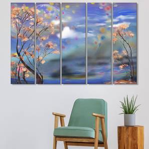 Oakers wall art set of 5 lp
