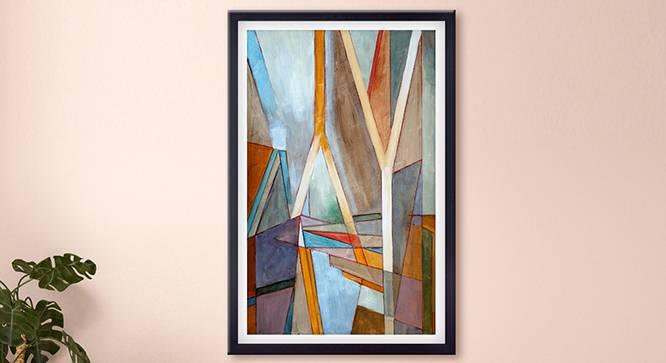 Piner Wall Art (Brown) by Urban Ladder - Design 1 Details - 331747