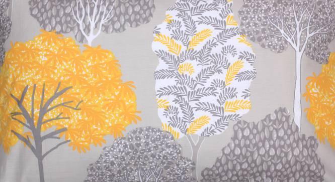Saptaparni Duvet Cover (Yellow, Single Size) by Urban Ladder - Design 1 Top View - 332028