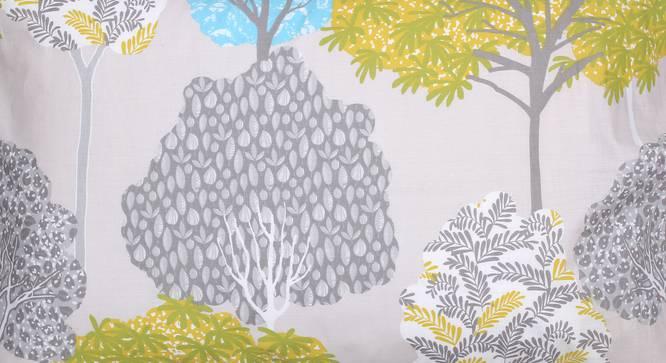 Saptaparni Duvet Cover (Green, Single Size) by Urban Ladder - Design 1 Top View - 332031