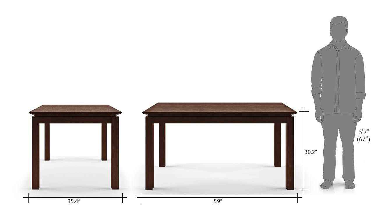 Diner 6 seater dining table 16