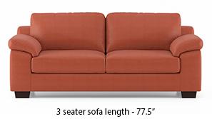 Esquel Leatherette Sofa (Tan)