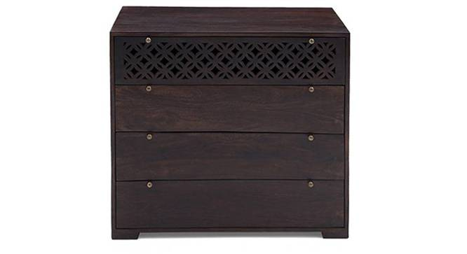 Alaca Chest Of Four Drawers (Mahogany Finish) by Urban Ladder - Front View Design 1 - 332786