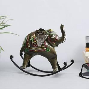 Burt Figurine (Brown) by Urban Ladder - Front View Design 1 - 332894