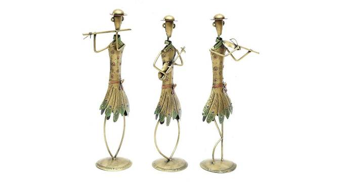 Louise Figurine Set of 3 (Brown) by Urban Ladder - Cross View Design 1 - 333084