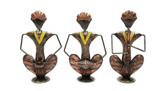 Julius Figurine Set of 3 by Urban Ladder - Front View Design 1 - 333107