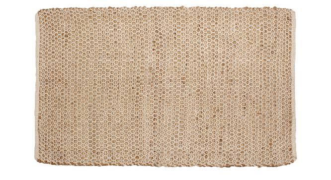 Aadu Floor Mat (Beige) by Urban Ladder - Front View Design 1 - 333247