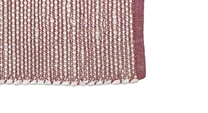Mahogany Floor Mat (Purple) by Urban Ladder - Design 1 Close View - 333249