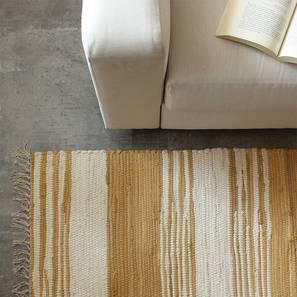 Ocean Floor Mat (Beige) by Urban Ladder - Front View Design 1 - 333259