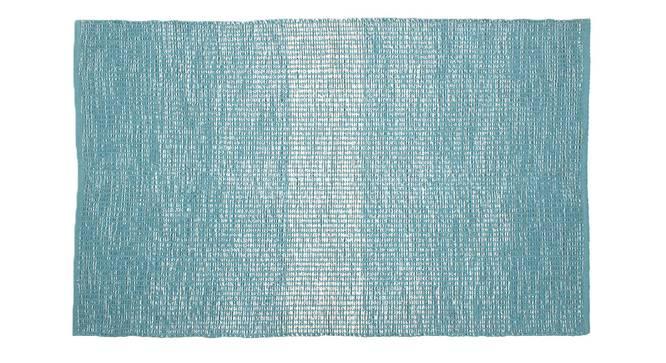 Seashell Floor Mat (Blue) by Urban Ladder - Front View Design 1 - 333276