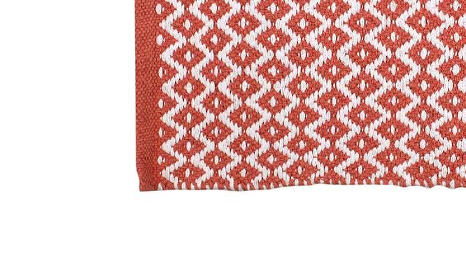 Seashell Floor Mat (Pink) by Urban Ladder - Design 1 Close View - 333280
