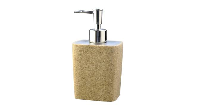 Harlow Soap Dispenser (Brown) by Urban Ladder - Front View Design 1 - 333362