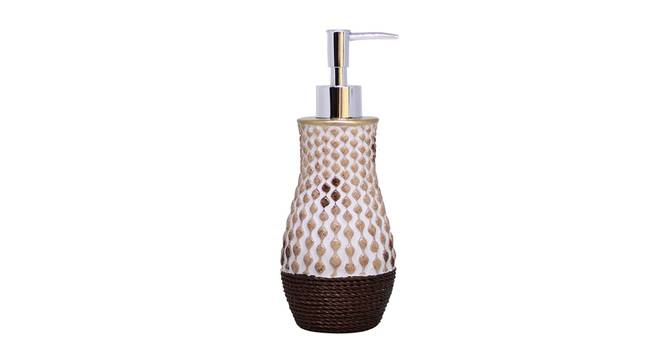 Amin Soap Dispenser (Brown) by Urban Ladder - Front View Design 1 - 333365