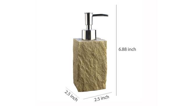 Evangeline Soap Dispenser (Gold) by Urban Ladder - Design 1 Dimension - 333372