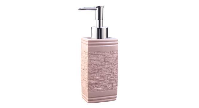 Iris Soap Dispenser (Pink) by Urban Ladder - Front View Design 1 - 333411