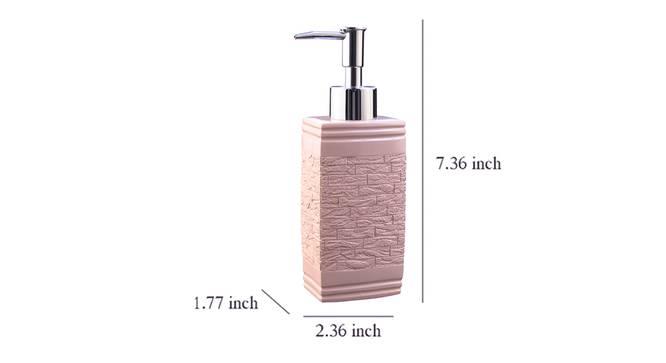 Iris Soap Dispenser (Pink) by Urban Ladder - Design 1 Dimension - 333429