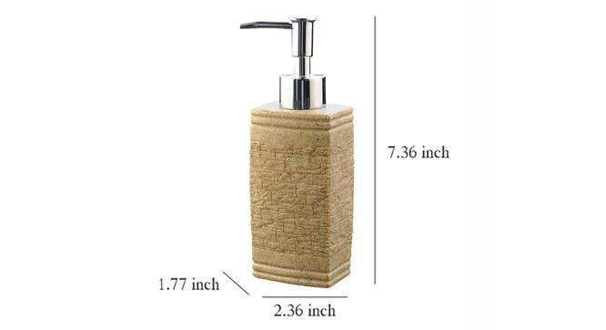 Kiera Soap Dispenser (Gold) by Urban Ladder - Design 1 Dimension - 333479