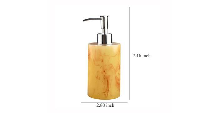 Linnea Soap Dispenser (Brown) by Urban Ladder - Design 1 Dimension - 333537