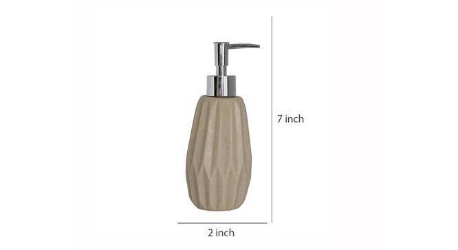Marissa Soap Dispenser (Beige) by Urban Ladder - Design 1 Dimension - 333539