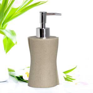 Olivia soap dispenser beige  lp