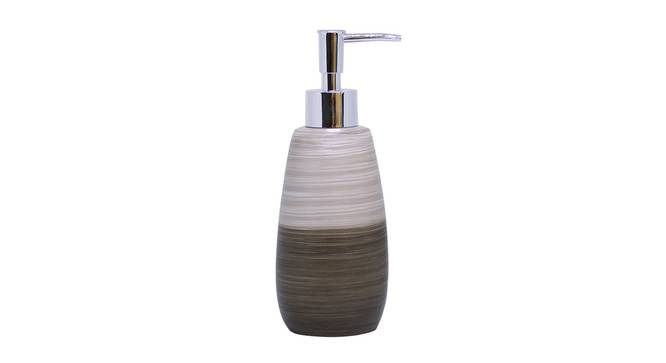 Naiomi Soap Dispenser (Brown) by Urban Ladder - Front View Design 1 - 333586