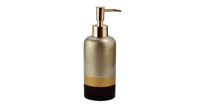 Salvador Soap Dispenser (Gold) by Urban Ladder - Front View Design 1 - 333645