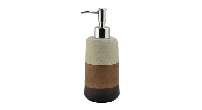 Seppe Soap Dispenser (Brown) by Urban Ladder - Front View Design 1 - 333648