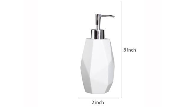 Support Soap Dispenser (Grey) by Urban Ladder - Design 1 Dimension - 333705