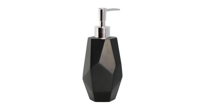 Ferrell Soap Dispenser (Black) by Urban Ladder - Front View Design 1 - 333710