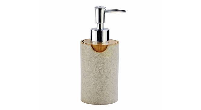 Ivo Soap Dispenser (Off White) by Urban Ladder - Front View Design 1 - 333822
