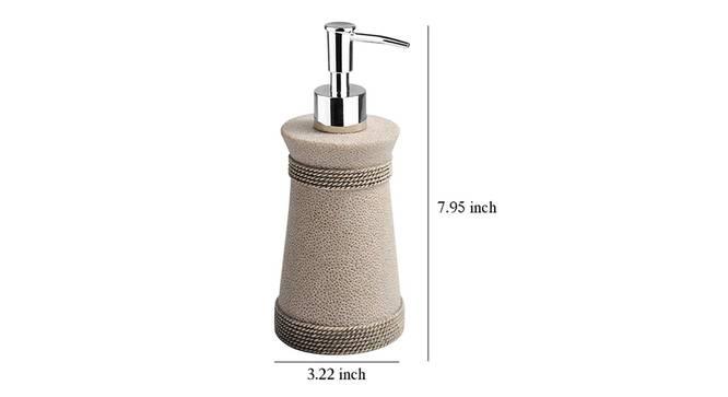 Hector Soap Dispenser (Grey) by Urban Ladder - Design 1 Dimension - 333826