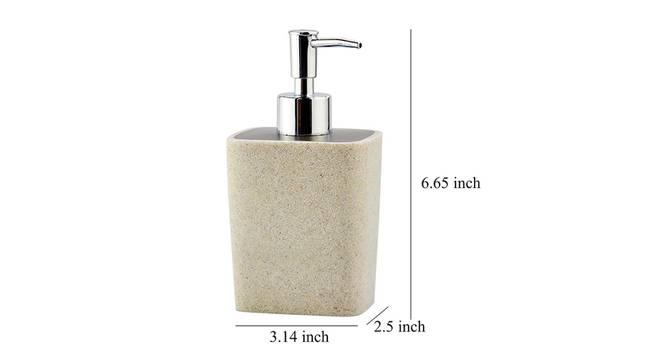 Henrik Soap Dispenser (Cream) by Urban Ladder - Design 1 Dimension - 333827