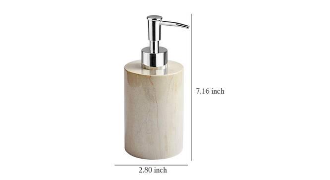 Ignacy Soap Dispenser (Cream) by Urban Ladder - Design 1 Dimension - 333830
