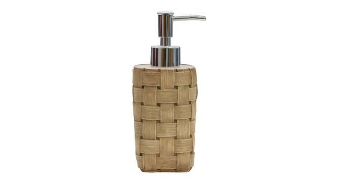 Jules Soap Dispenser (Brown) by Urban Ladder - Front View Design 1 - 333862