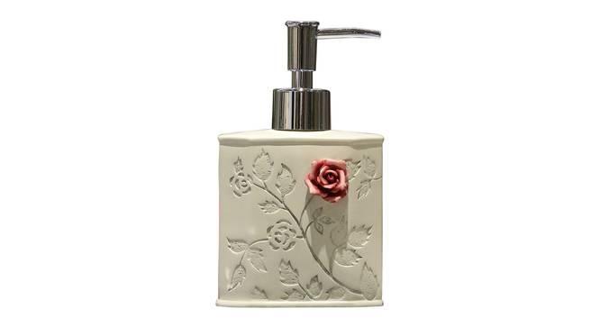 Julius Soap Dispenser (White) by Urban Ladder - Front View Design 1 - 333863