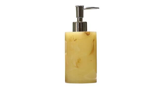 Kuba Soap Dispenser (Yellow) by Urban Ladder - Front View Design 1 - 333867