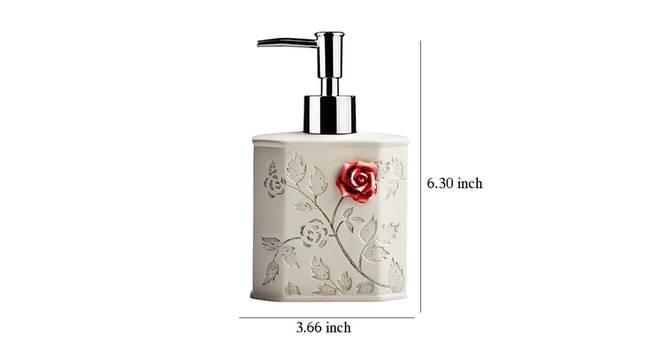 Julius Soap Dispenser (White) by Urban Ladder - Design 1 Dimension - 333879