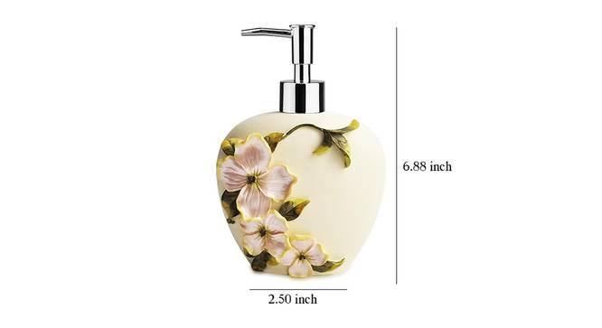Kajetan Soap Dispenser (Cream) by Urban Ladder - Design 1 Dimension - 333880