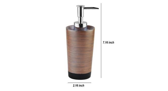 Leone Soap Dispenser (Brown) by Urban Ladder - Design 1 Dimension - 333886