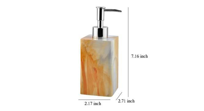 Levin Soap Dispenser (Yellow) by Urban Ladder - Design 1 Dimension - 333888