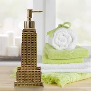 Nikita soap dispenser gold lp