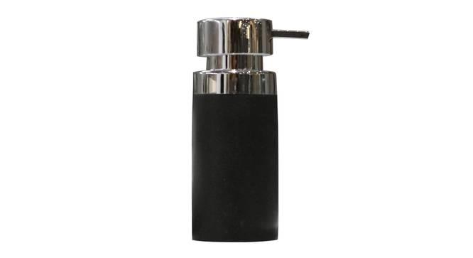 Loris Soap Dispenser (Black) by Urban Ladder - Front View Design 1 - 333909