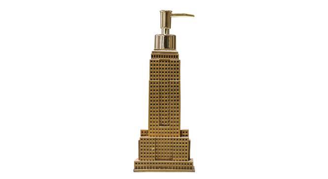 Nikita Soap Dispenser (Gold) by Urban Ladder - Front View Design 1 - 333923